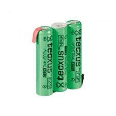 Επαναφορτιζόμενη Μπαταρία Tecxus 14090 3xAAA 3.6V 800mAh